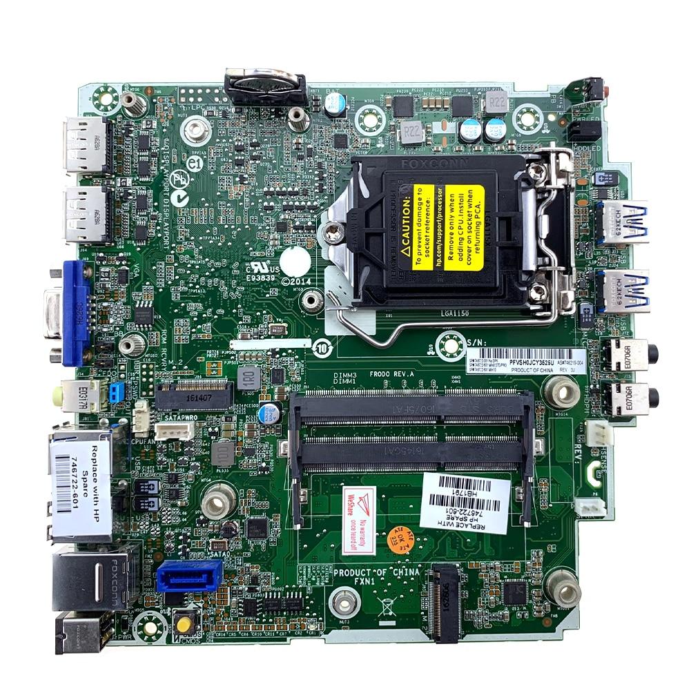 For HP ProDesk 600 G1 DM 1150 Q87 746219-001 003 746632-001 501 601 Motherboard