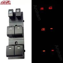 Interrupteur de fenêtre électrique Neweast 7 led pour Nissan Qashqai/Altima/Sylphy/Tiida/x-trail t 31 rétro-éclairage