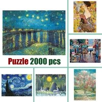 jigsaw puzzle 2000 pieces for adults old master puzzle 2000 educational toy 70100 cm