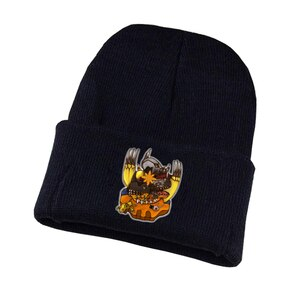 Anime Digimon Adventure Knitted hat Cosplay hat Unisex Print Adult Casual Cotton hat teenagers winter Knitted Cap