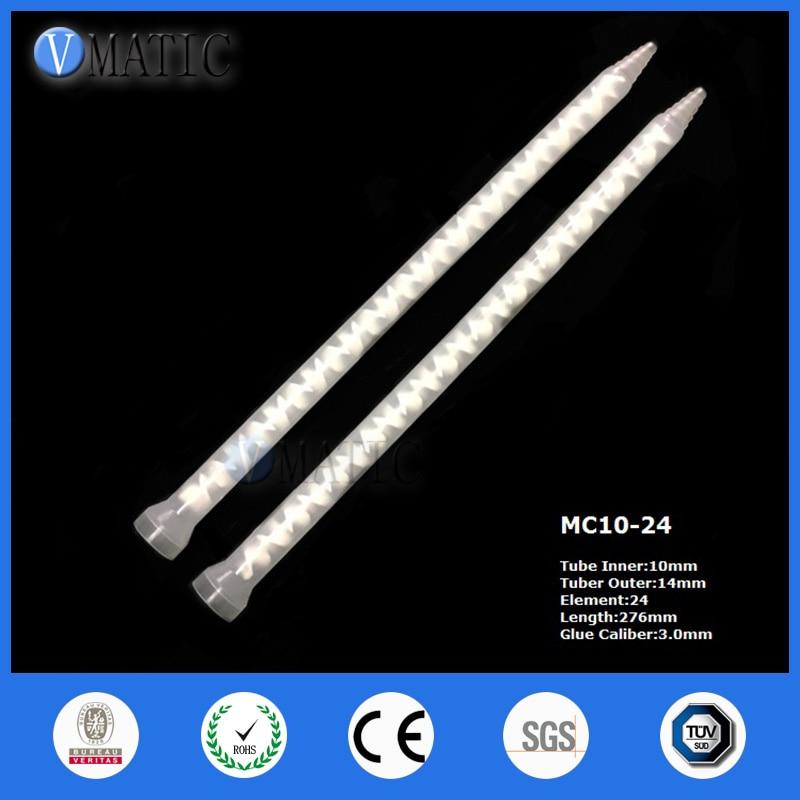 عالية الجودة 20 قطعة الراتنج خلاط ثابت MC10-24 خلط الفوهات لالغراء الاستغناء