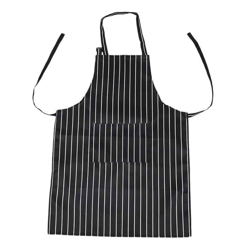 Küche Backen Ware Zebra Kreide Streifen Bib Schürze mit Taschen