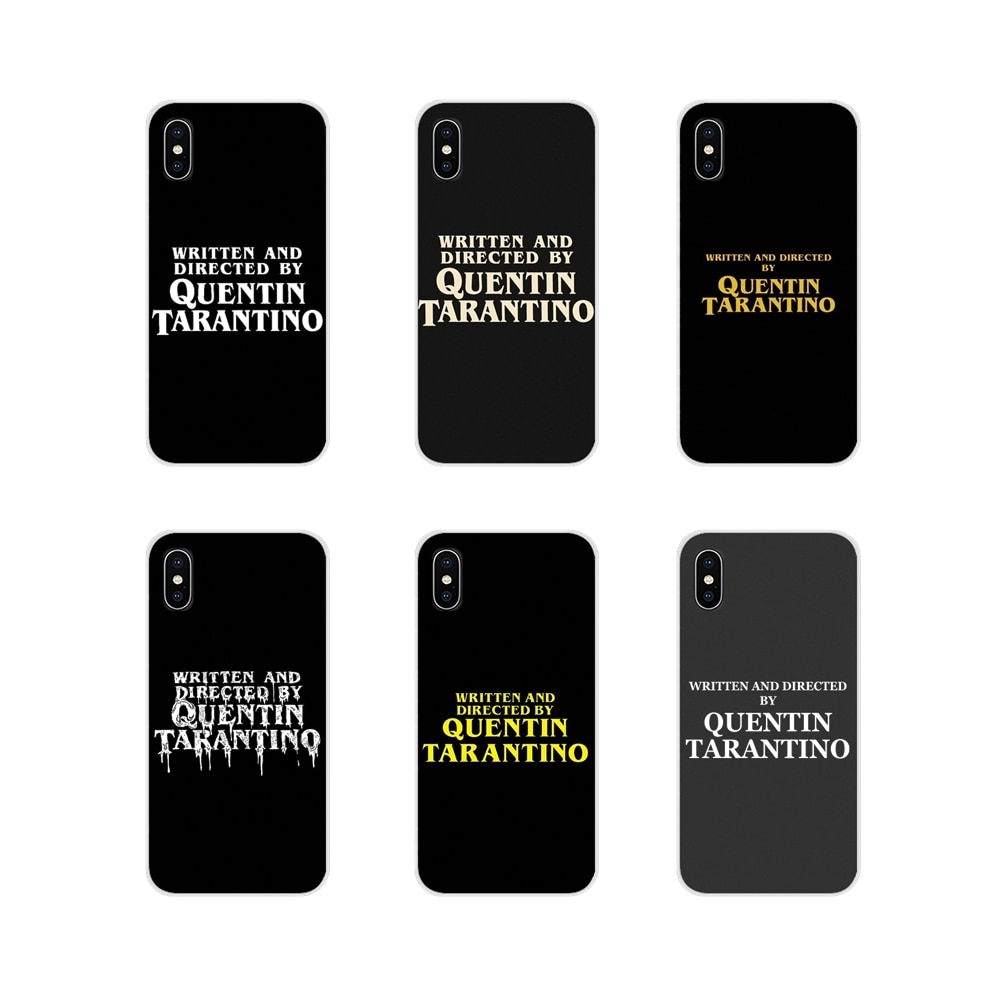 written-and-directed-by-quentin-tarantino-silicone-shell-case-for-huawei-mate-honor-4c-5c-5x-6x-7-7a-7c-8-9-10-8c-8x-20-lite-pro