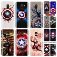 Baseus Clear case for Samsung J4 J6 Plus J7 J8 J3 J5 2015 2016 2017 EU 2018 Prime Soft Cases Marvel Hero Captain America