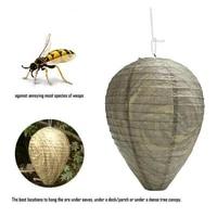 28x22cm creative simulation wasp nest waterproof hive driven honeycomb lantern paper honeycomb wasp guide lantern