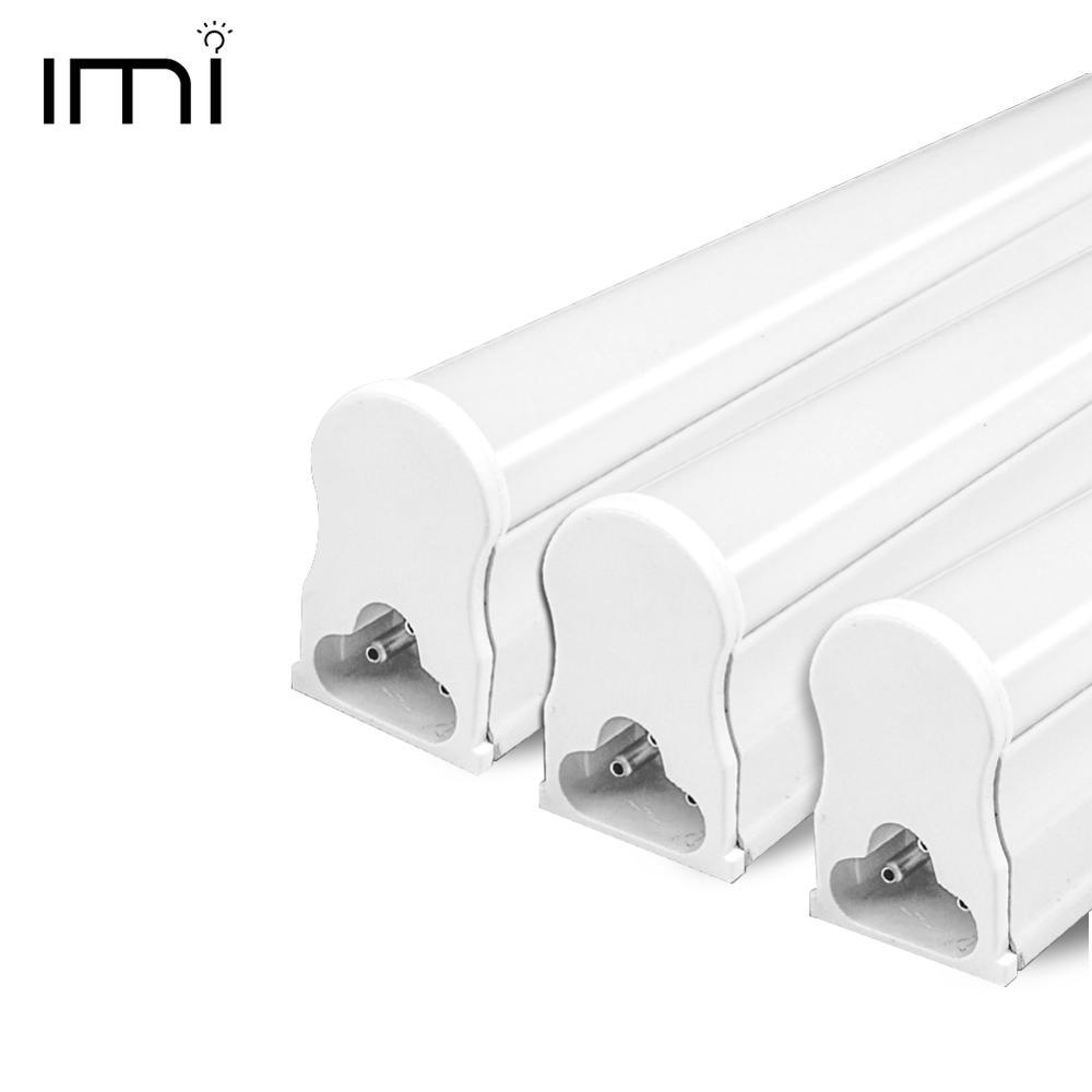 Светодиодный светильник T5 с люминесцентной лампой, интегрированный T8, настенный светильник 30 см, 60 см, 1 фут, 2 фута, 6 Вт, 10 Вт, холодный теплый белый, 110 В, 220 В, 240 В
