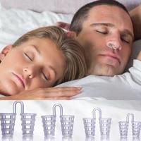 100boxlot anti snore apnea nose clip stop snore device silicone comfortable nose vent nasal dilators stop snoring sleeping aid