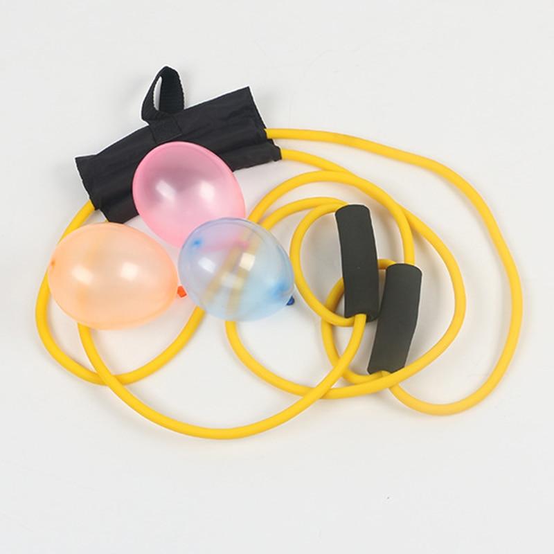Lanzadores de globos de agua/catapultas/Globos de agua honda Shotting verano juegos de juguetes al aire libre para niños adultos FJ88