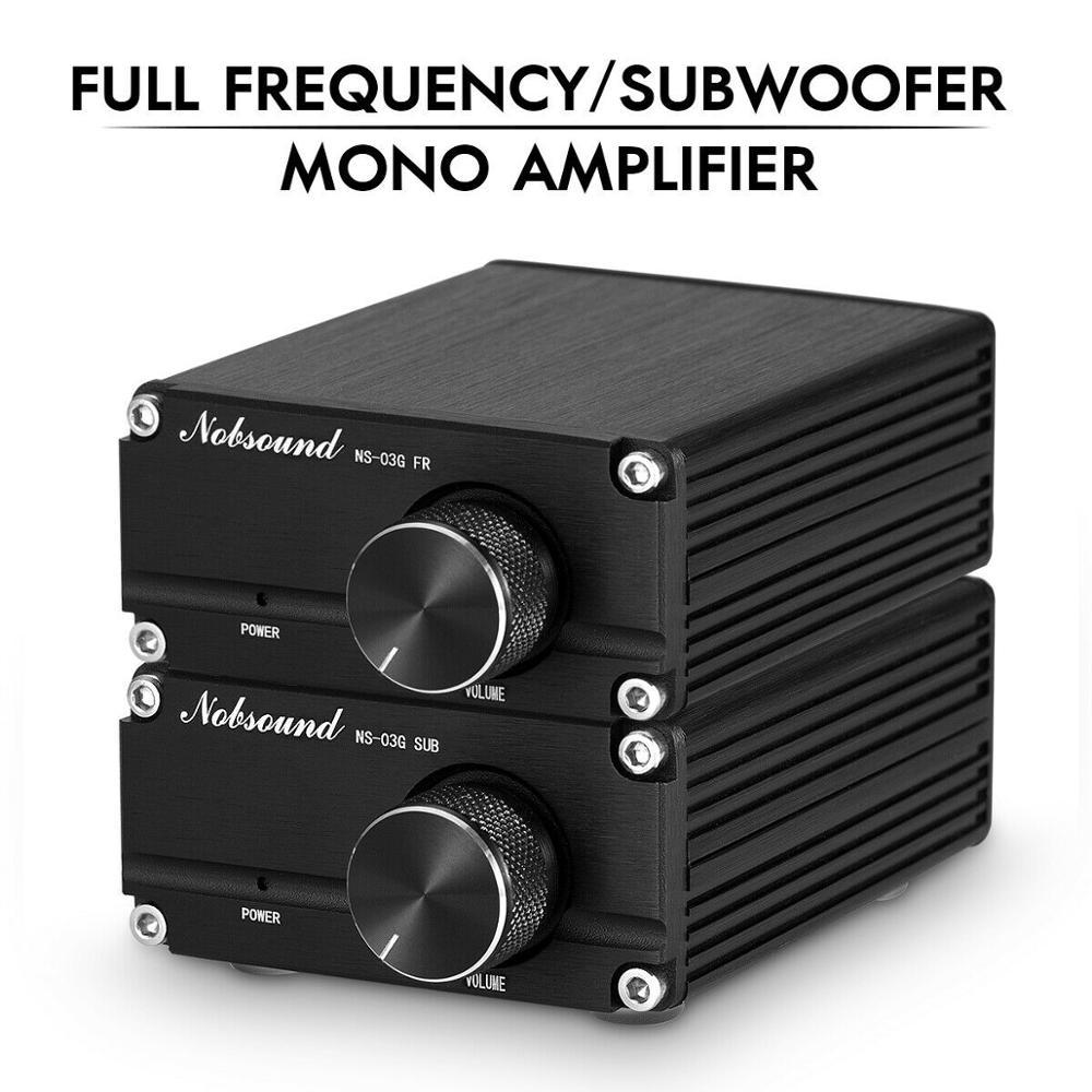 Douk Audio Hi-Fi 100W Mini TPA3116D2 caisson de basses/amplificateur de puissance pleine fréquence amplificateur Audio numérique Mono canal