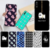 game undertale annoying dog newly arrived black cell phone case for huawei honor 30 20 10 9 8 8x 8c v30 lite view pro