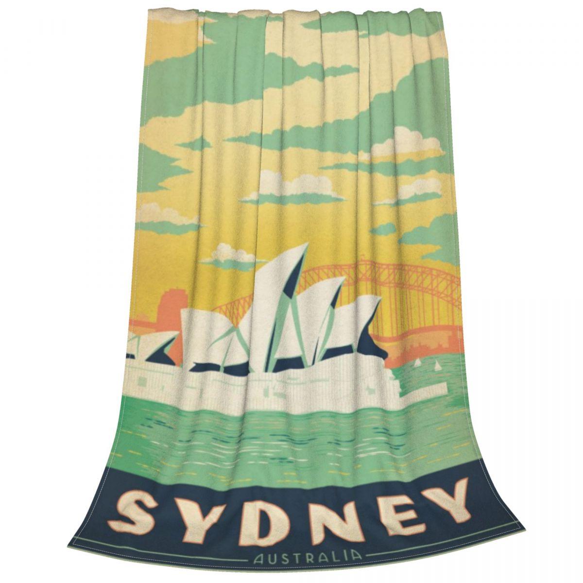 سيدني أستراليا صوف ليف دقيق بطانية الترا لينة رمي بطانية دافئة خفيفة الوزن الفانيلا بطانية ل أريكة أريكة سرير مكتب