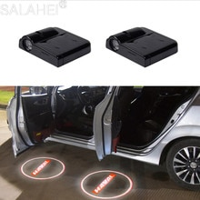 2 шт. беспроводной светодиодный лазерный проектор для двери автомобиля с логотипом Shadow Lights для HAVAL H5 H6 H7 H9 F7 F7X автомобильные аксессуары