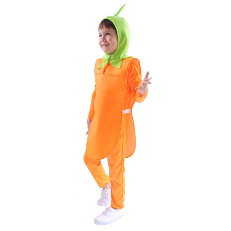 Chico zanahoria kigumi pijamas ropa recién nacido Anime infantil mameluco Onesie lindo Animal perro Cosplay traje con capucha mono