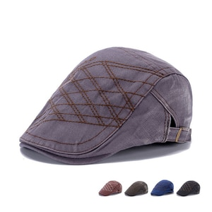 2020 Fashion hats New spring and autumn season fashion cap cap men casual cotton made old beret hat