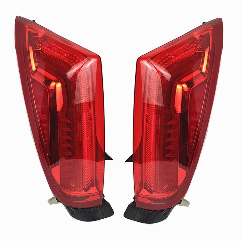 Led brake light driving light rear bumper light tail lamp assembly for Cadillac XTS 2013-17
