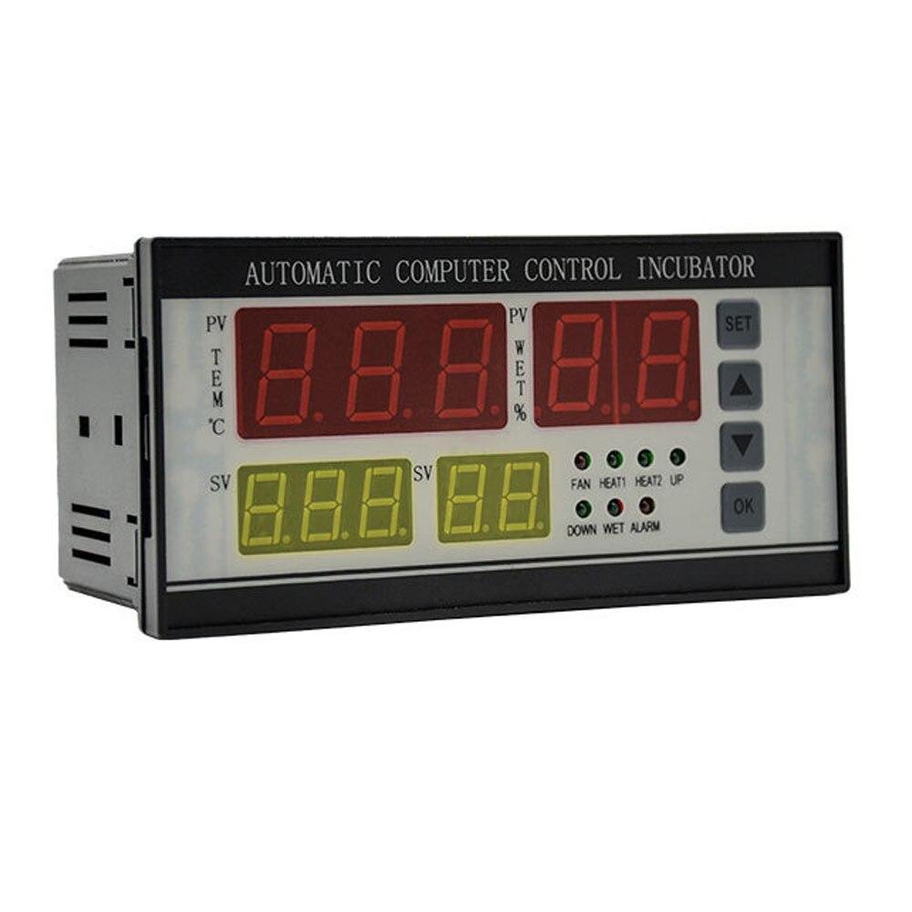 XM-18 التلقائي البيض حاضنة تحكم ترموستات الحضانة نظام التحكم درجة الحرارة والرطوبة قابل للتعديل