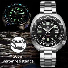 Waterproof automatic watch men Sapphire Crystal Stainless Steel NH35 Automatic Mechanical Men's watc