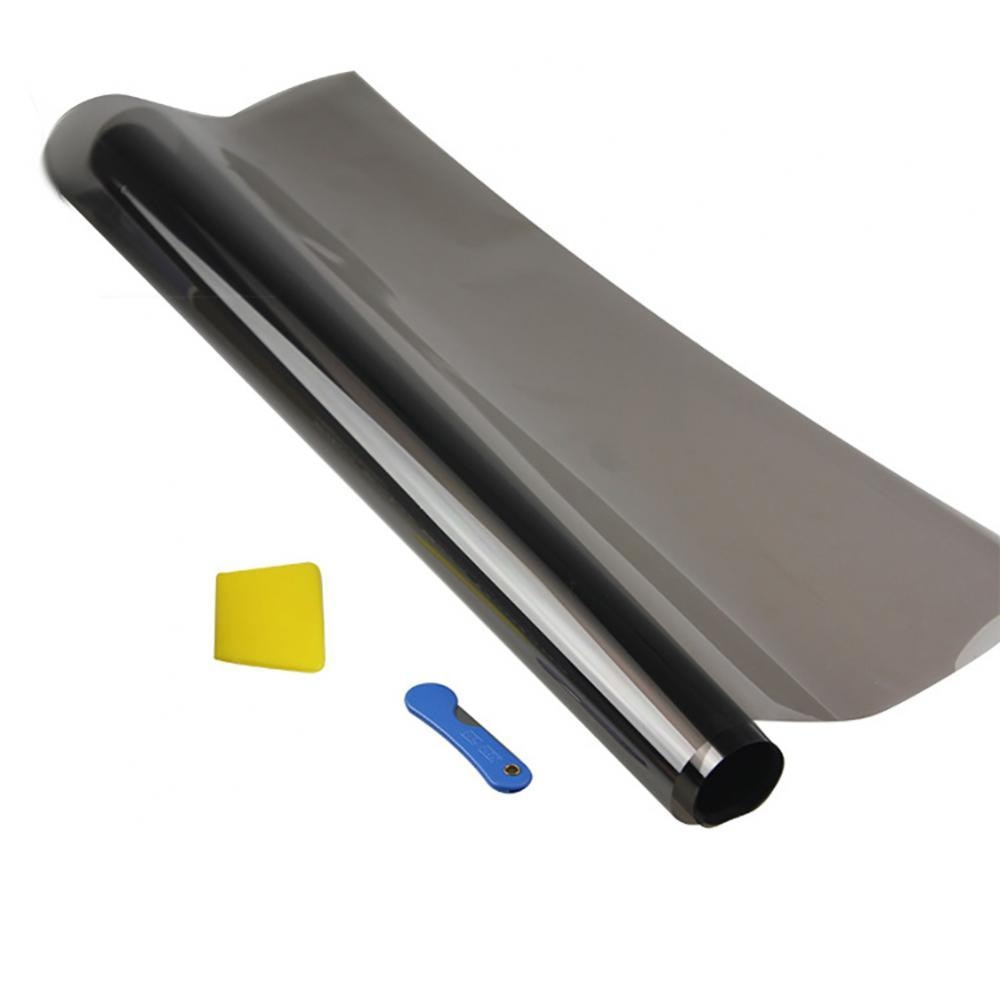 Black Car Window Tint Film Glass Auto Sticker House Commercial Solar Protection Window Foils Solar Protection