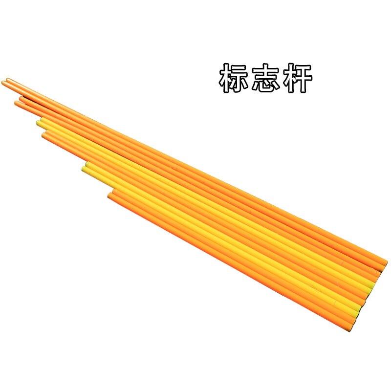 Оптовая продажа с фабрики высокого качества желтый и оранжевый цвет Футбол учебный маркер полюс футбол учебный Маркер пост
