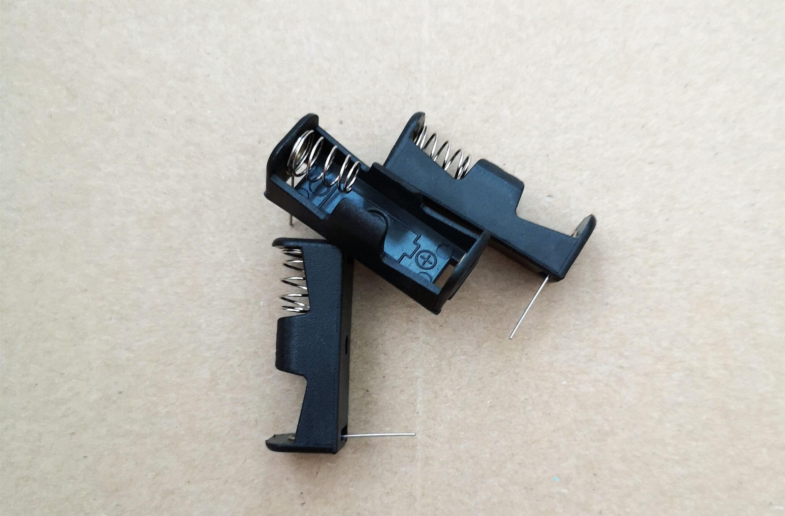 20PCS 12V 23A Pin Zellen Batterie halter 12V Clip Halter Fall A23 Schwarz N Türklingel fernbedienung anschlüsse
