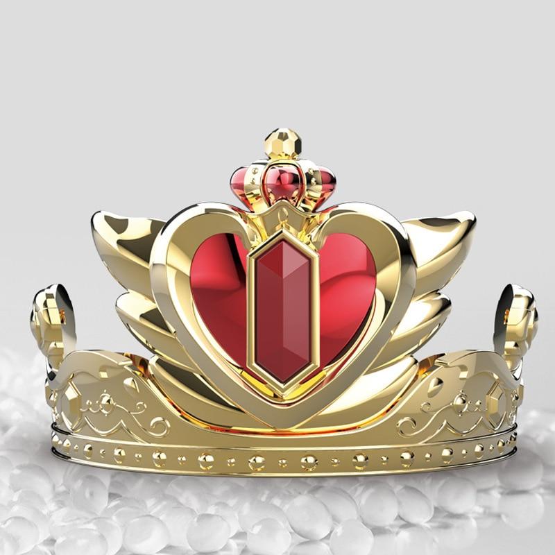 Электрическая Волшебная корона принцессы игрушка для девочек мигающая музыка косплей Королева Корона удивительная ролевая игра детская и...