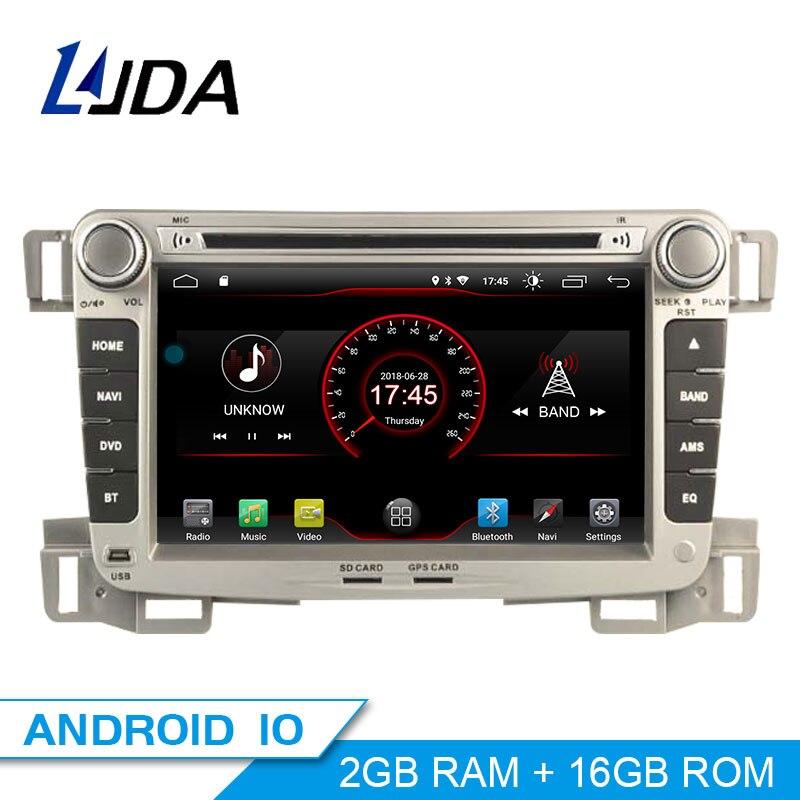LJDA 2 Din Autoradio Android 10,0 Auto DVD Player Für CHEVROLET SALZ 2009-2013 GPS Navigation Stereo WIFI multimedia IPS Canbus