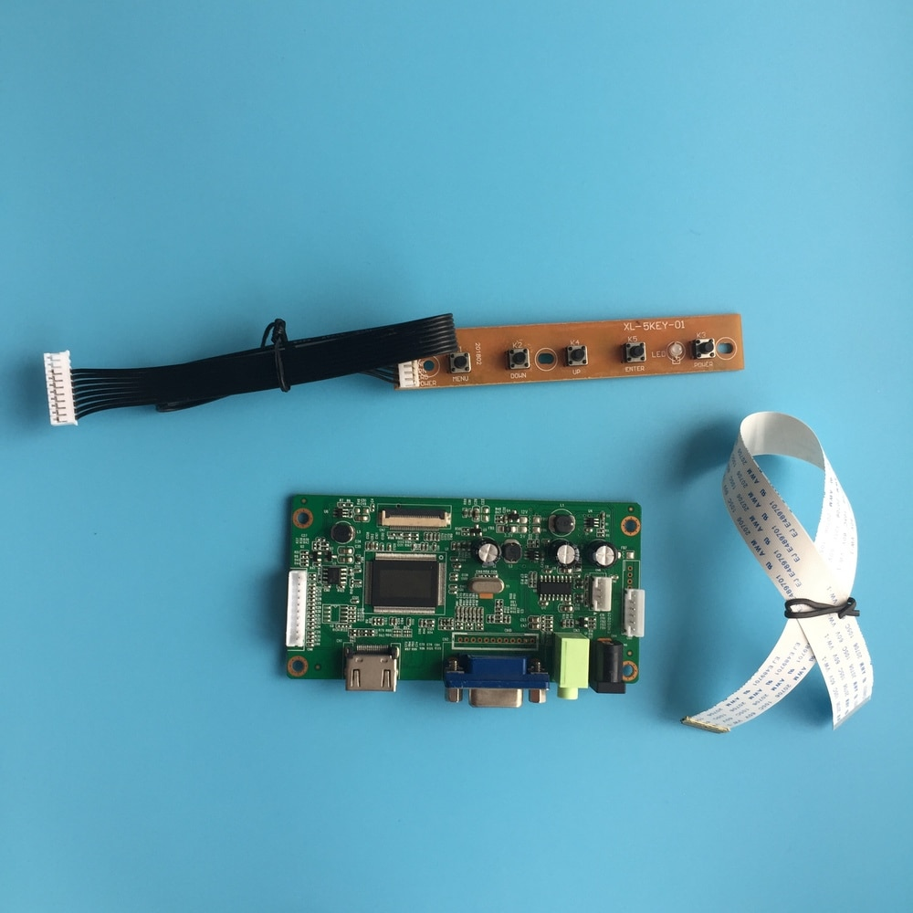 "Para N156BGE-EB1 LED EDP monitor 1366X768 conductor EDP HDMI 30Pin Placa de controlador KIT 15,6 ""VGA LCD de pantalla"