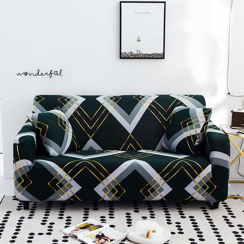 Эластичные Чехлы для дивана в гостиную, полноразмерные Нескользящие Чехлы для кушетки, 1 шт.