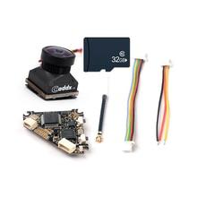 Happymodel diamant VTX 5.8G 40CH 25 ~ 200mw commutateur émetteur DVR enregistrement Audio + Turbo EOS2 FPV caméra pour Drone télécommandé