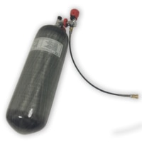 AC109101 9L CE 300bar 4500psi High Pressure Carbon Fiber Cylinder For Scuba Diving Tank Paintball Pcp Air Rifle Airgun Acecare