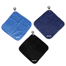 12x12 Inches Microfiber Golf Towel with Clip Sweat-absorbent Wiping Cloth Gym Supplies