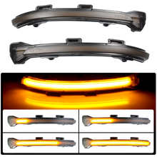 For VW Golf 7 GTI R Facelift 7.5 Sportsvan Touran Jetta LED Dynamic Car Blinker Side Marker Turn Signal Lights Lamp Accessories