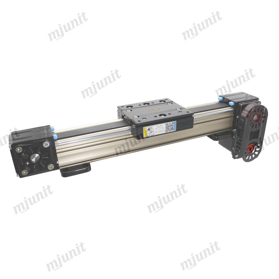 Mjunit MJ60N عالية السرعة اللوحة X محور خطي السكك الحديدية المحرك ترقية عدة الألومنيوم وحدة السكك الحديدية الخطية