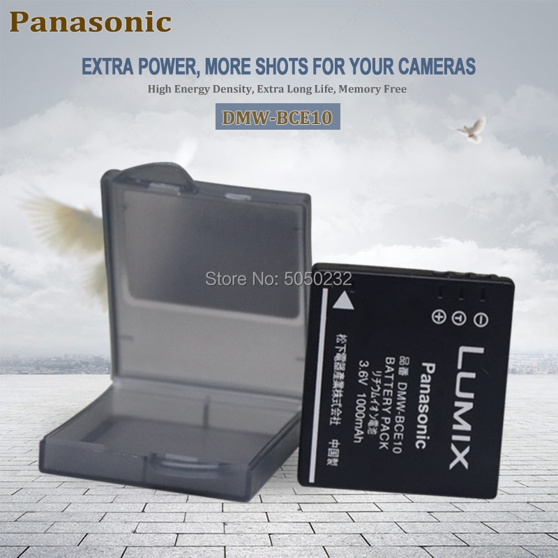 Panasonic DMW-BCE10 E BP-DC6 CGA-S008 VW-VBJ10 DB-70 de batería de la Cámara DMC-FS3 FS5 FS20 FX30 FX33 FX35 FX36 FX37 FX38 FX55