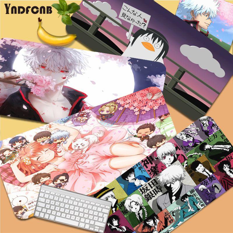 YNDFCNB Gintama, в наличии, скоростные мыши, розничная продажа, Размер коврика для мыши, резиновые коврики для мыши Deak, коврик для overwatch/cs go/world of warcraft