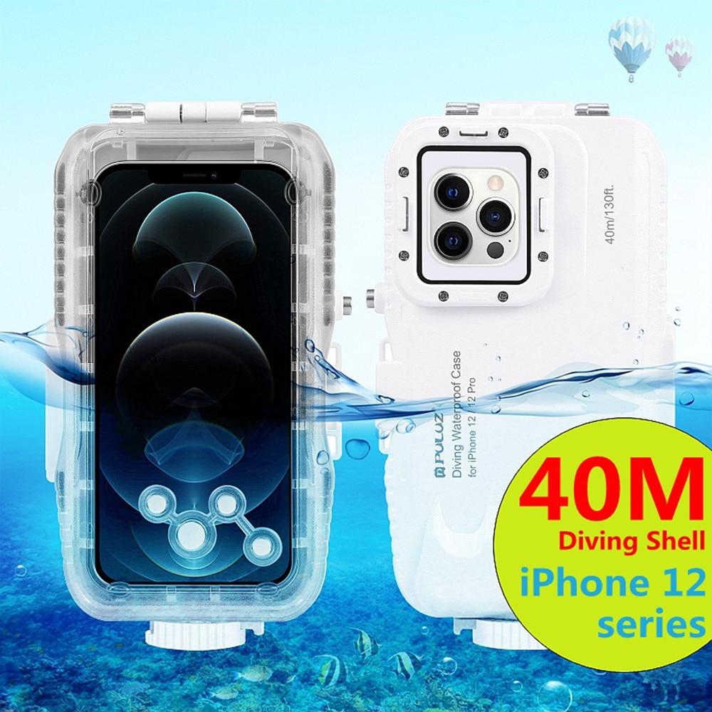 بولوز 40 متر الغوص آيفون 12 سلسلة مقاوم للماء الحال بالنسبة للتصوير تحت الماء مناسبة للغوص تصفح الغوص التزلج