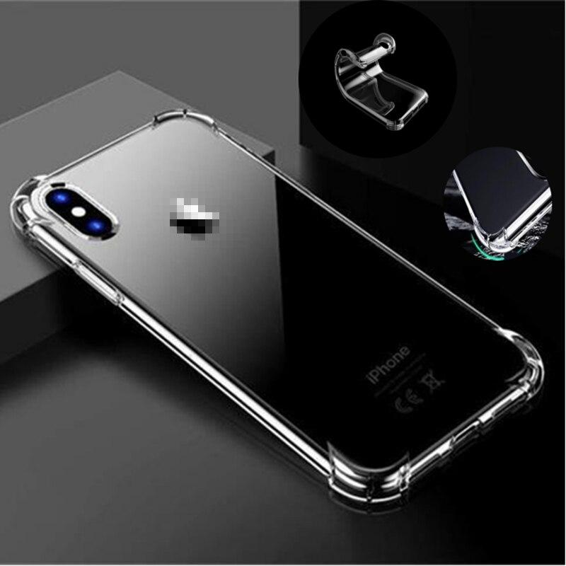 De lujo a prueba de golpes a prueba transparente de silicona suave caso Samsung Galaxy A71 A51 A90 5G 4G A91 A81 A41 A80 A70 A60 A50 A40 A50S A70S A30S
