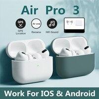 Беспроводные Bluetooth-наушники с сенсорным управлением для airpods pro 3, спортивные наушники-вкладыши для Iphone, Xiaomi, TWS, музыкальная гарнитура