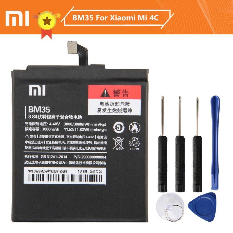 Xiao Mi Xiaomi BM44 Phone Battery For Xiaomi Redmi 2 Redmi 1S 2A BM22 Mi5 Mi 5 BM35 Mi 4C BM36 5S BM47 Redmi 3 3 Pro 3S 3X 4X enlarge