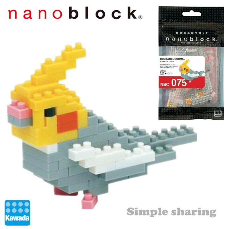 Nova Nanoblock Periquito NBC-075 Anime Diamante Mini Micro-Empresas de Blocos de Construção de Brinquedos Criativos Para O Menino