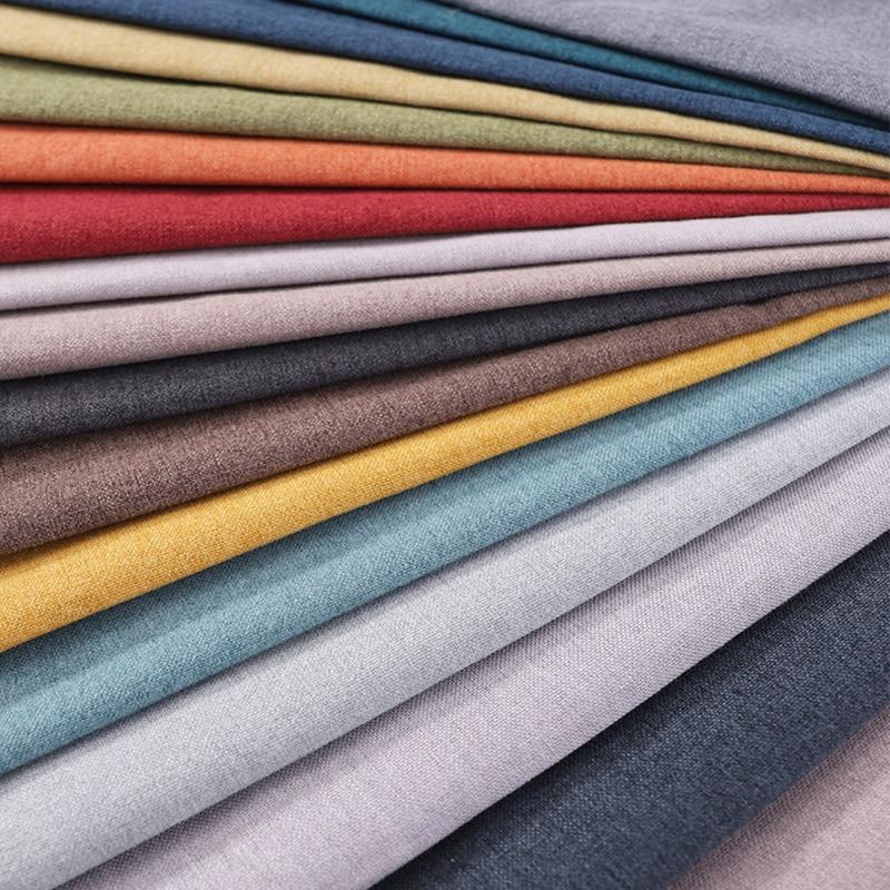 Льняная ткань, текстиль, ткань для дивана, мебель, простая обивочная ткань