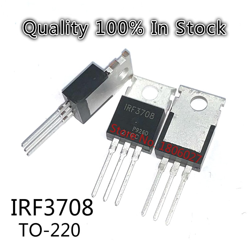 Send free 20PCS IRF3708 TO-220 New original spot selling integrated circuits