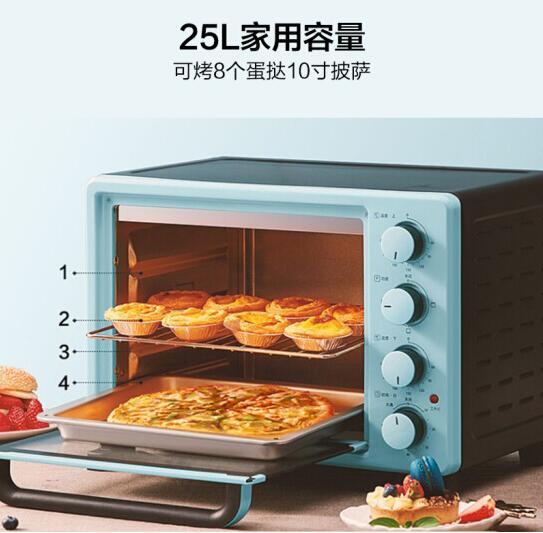 الصين قوانغدونغ ميديا 25L فرن كهربائي مشوي فرن خبز الفرن 220-230-240 PT2531 كعكة المنزل ماكينة الخبز