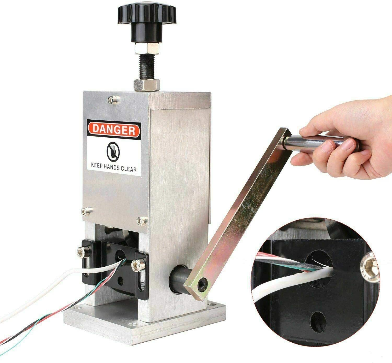 Copper Wire Stripping Machine Scrap Recycle Tool Manual Cable Stripper