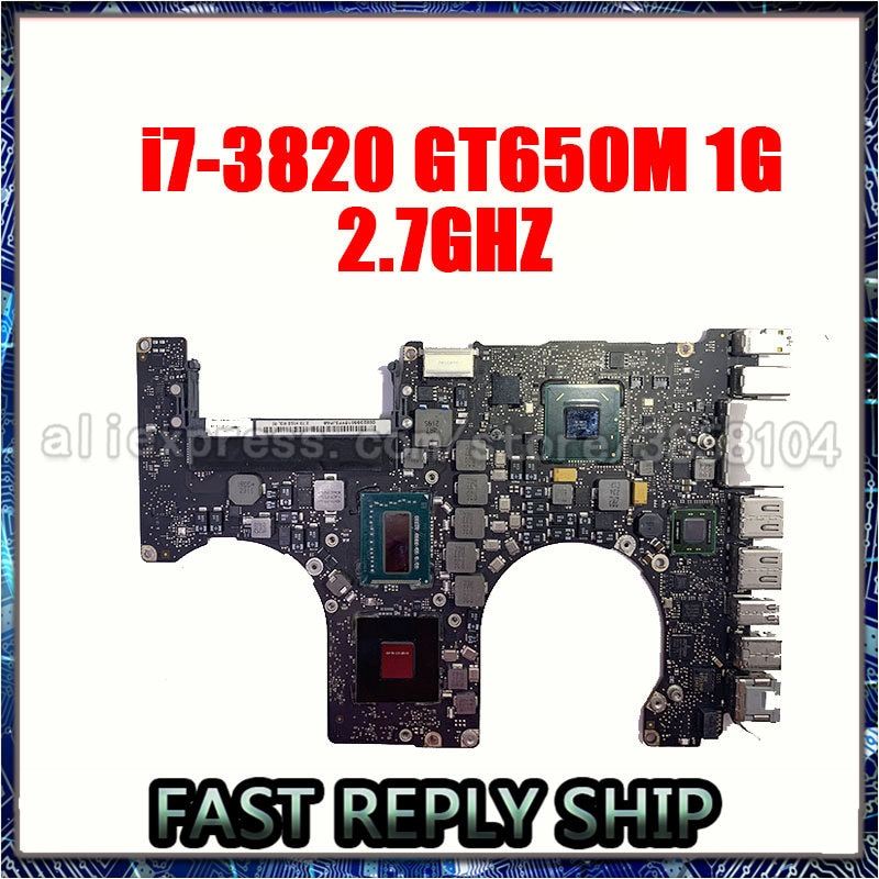 "661-6491 System Board For Apple Macbook Pro 15"" A1286 Mid 2012 Year Logic Board i7 2.3Ghz 2.6Ghz 820-3330-B"