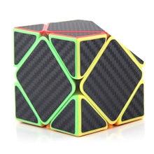 Cubo mágico de fibra de carbono Original de alta calidad MoYu MeiLong Skewbed, rompecabezas de velocidad sesgado, regalos de Navidad, Ideas, juguetes para niños