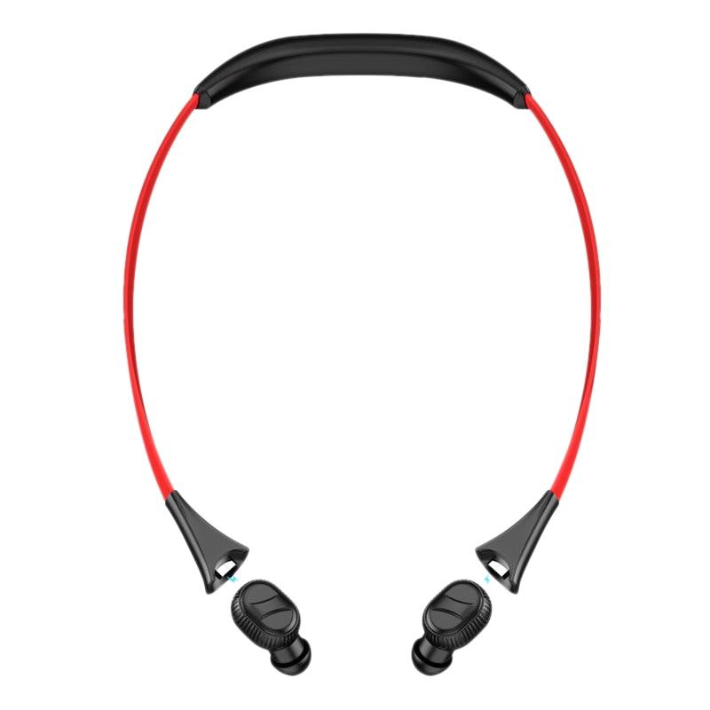 Fone de Ouvido sem Fio Fone de Ouvido Binaural Bluetooth Pescoço-montado Esportes Mini Tws 5.0 300 Mah