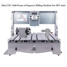 Mini CNC Router rama 3040 z grawer frezarka dla majsterkowiczów 3040 4 osi, również mają 3020/6040/6090 rozmiar