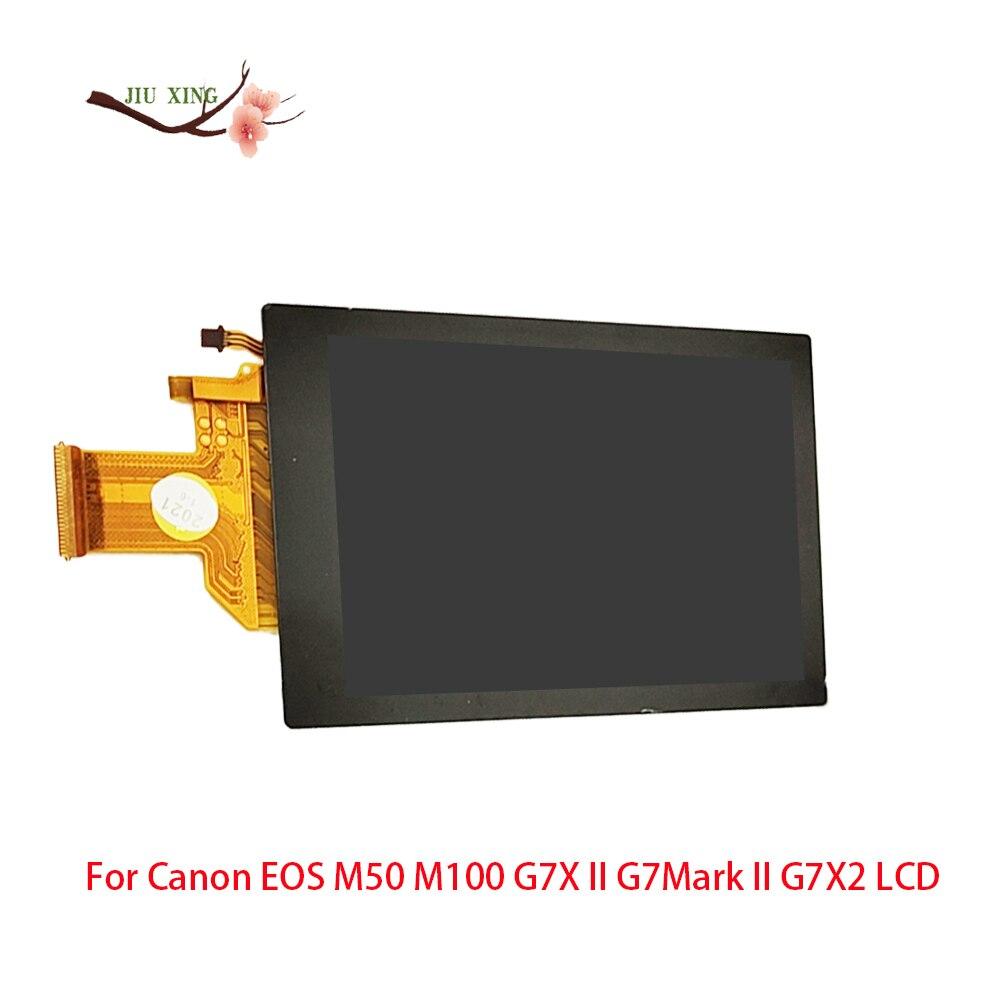 Для Canon EOS M50 M100 G7X II G7Mark II G7X2 ЖК-экран с подсветкой камеры запасные части