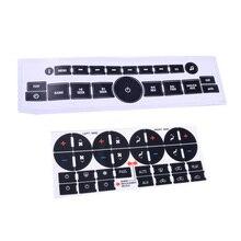Autocollants de bouton de tableau de bord pour Chevrolet GMC Tahoe pièces de rechange accessoires Auto intérieur de voiture